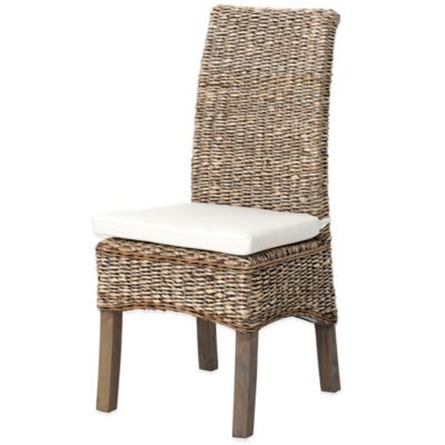 Urban Oasis Wickham Banana Leaf Dining Chair in Grey