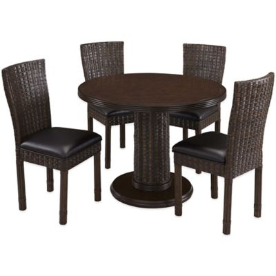 Home Styles Castaway 5-Piece Dining Table Set