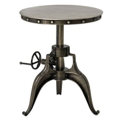 Urban Oasis Whitby 22-Inch Crank Round End Table