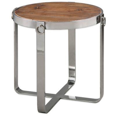 Uttermost Berdine Wooden Side Table