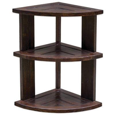 Uttermost Claro Hickory Accent Table