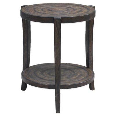 Uttermost Pias Rustic Accent Table in Java