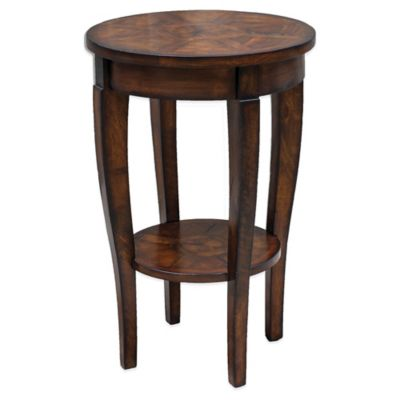 Uttermost Manju Round Accent Table