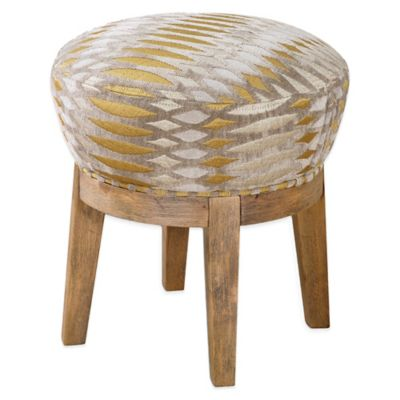 Uttermost Hendrik Fabric Swivel Stool