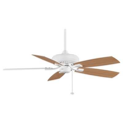 Fanimation Edgewood® Decorative 52-Inch x 13.9-Inch Ceiling Fan in Satin Nickel