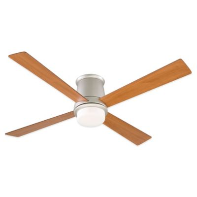 Fanimation Inlet™ Snugger 52-Inch x 11.5-Inch Ceiling Fan in Satin Nickel