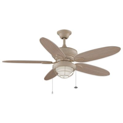 Fanimation Kaya™ 52-Inch x 18.6-Inch Ceiling Fan in Rust