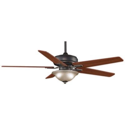 Fanimation Keistone™ 60-Inch x 19.2-Inch Ceiling Fan in Bronze