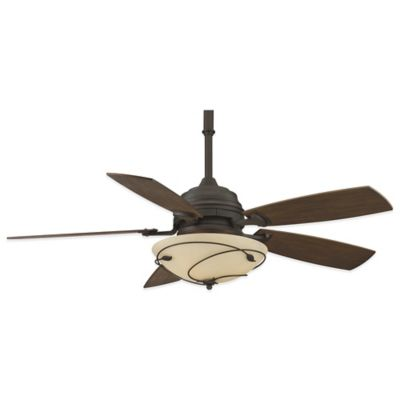 Leaf Blade Ceiling Fan With Light
