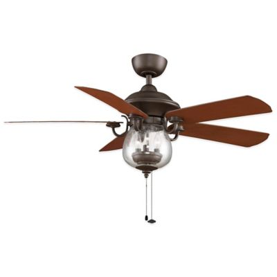Fanimation Crestford 52-Inch Ceiling Fan in Oil Rubbed Bronze