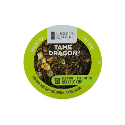 24-Count Higgins & Burke™ Tame Dragon Green Tea RealCup for Single Serve Coffee Makers