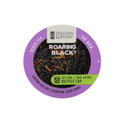 24-Count Higgins & Burke™ Roaring Black™ Tea RealCup for Single Serve Coffee Makers