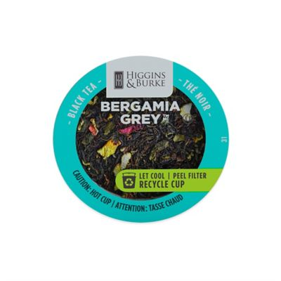 24-Count Higgins & Burke™ Bergamia Grey™ Tea RealCup for Single Serve Coffee Makers