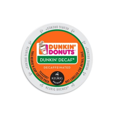 Keurig® K-Cup® 16-Count Dunkin' Donuts® Dunkin' Decaf® Coffee