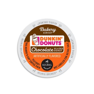 Keurig® K-Cup® 16-Count Dunkin' Donuts® Bakery Series Chocolate Glazed Donut Coffee