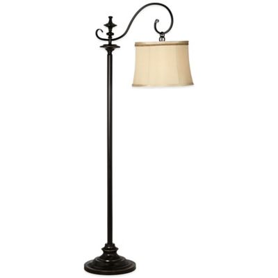 Pacific Coast® Lighting Duetto Downbridge Floor Lamp in Bronze