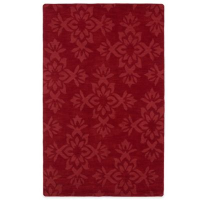 Kaleen Imprints Classic 3-Foot 6-Inch x 5-Foot 6-Inch Rug in Red