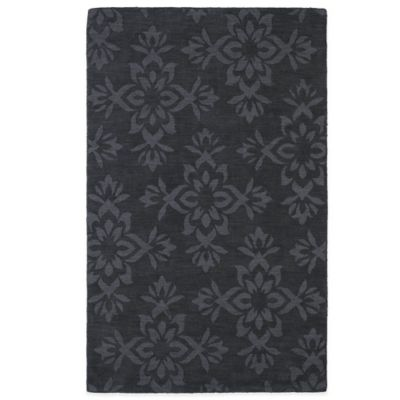 Kaleen Imprints Classic 5-Foot x 8-Foot Rug in Charcoal