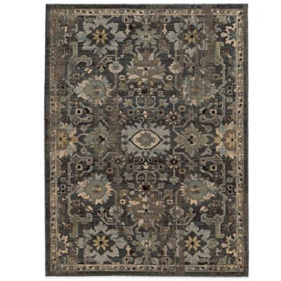 Vintage 9-Foot 4-Inch Runner in Blue