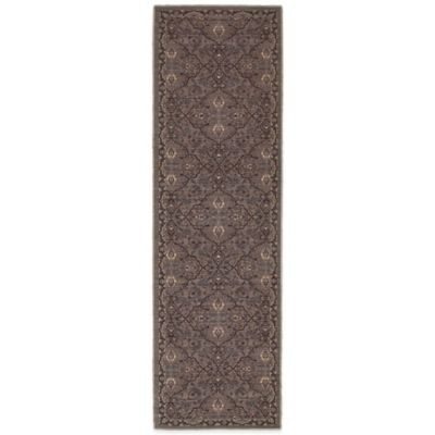 Tommy Bahama® Vintage 2-Foot 7-Inch x 9-Foot 4-Inch Runner in Brown
