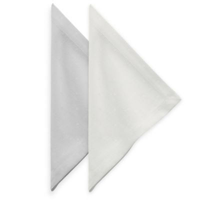kate spade new york Larabee Dot Napkin in Platinum