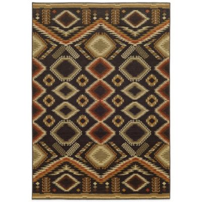 Tommy Bahama® Voyage Diamond 6-Foot 7-Inch x 9-Foot 6-Inch Rug in Brown