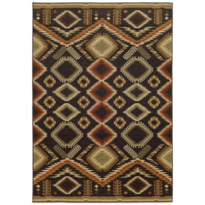 Tommy Bahama® Voyage Diamond 7-Foot 10-Inch x 10-Foot 10-Inch Rug in Brown
