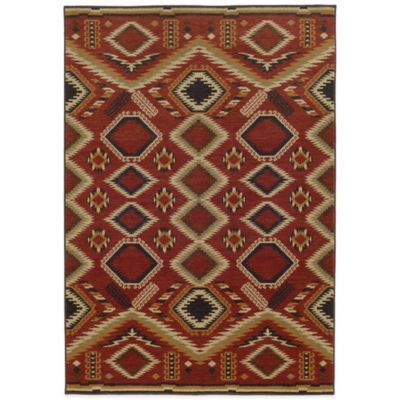 Tommy Bahama® Voyage Diamond 7-Foot 10-Inch x 10-Foot 10-Inch Rug in Red
