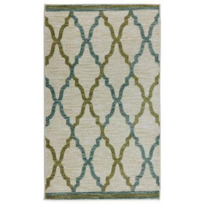 Mohawk Home Silk Elegance 2-Foot 6-Inch x 3-Foot 10-Inch Rug in Straw