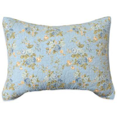Pale Blue Pillow Sham
