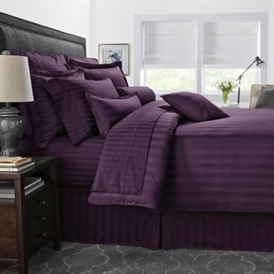 Solid Purple Twin Comforter