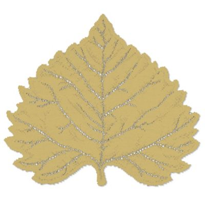 Heritage Lace® Aspen Leaf Placemat in Goldenrod