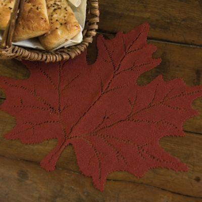 Heritage Lace® Maple Leaf Placemat in Goldenrod