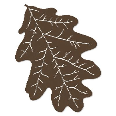 Heritage Lace® Oak Leaf Placemat in Earth