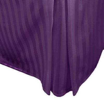 Purple Full Bed Skirt