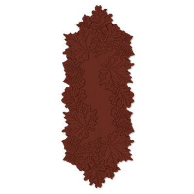 Dark Paprika Thanksgiving Table Linens