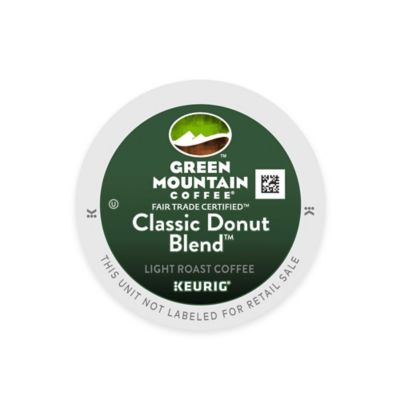 Keurig® K-Cup® Pack 18-Count Green Mountain Coffee® Classic Donut Blend™ Coffee