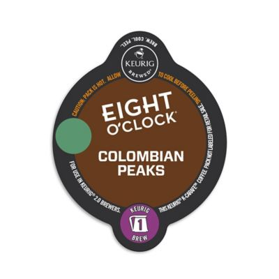 Keurig® K-Carafe™ Pack 8-Count Eight O' Clock® Colombian Peaks Medium Roast Coffee
