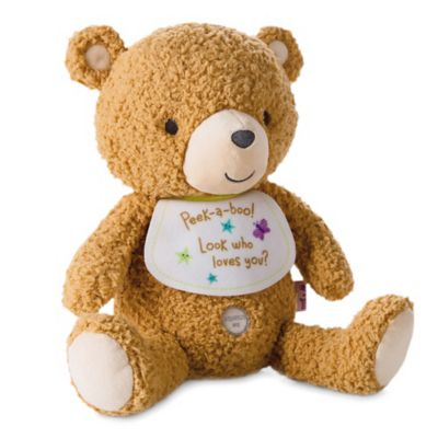 Hallmark Baby Recordable Bear Plush Stuffed Animal in Brown