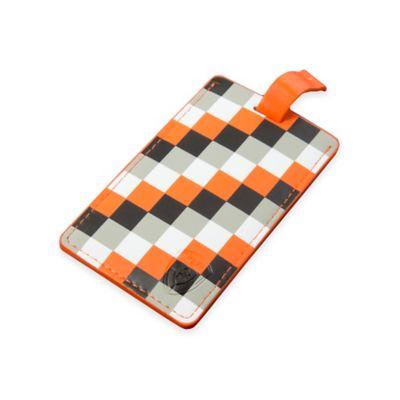 Heys America Luggage Tag in Orange Check