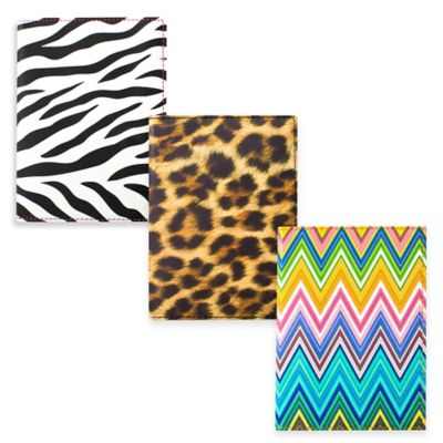 Heys America Passport Holder in Leopard