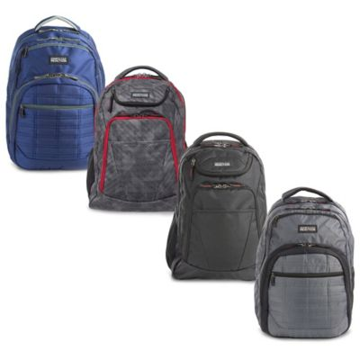 Heritage Travelware Wreck 2-Tone 16-Inch Computer Backpack in Navy