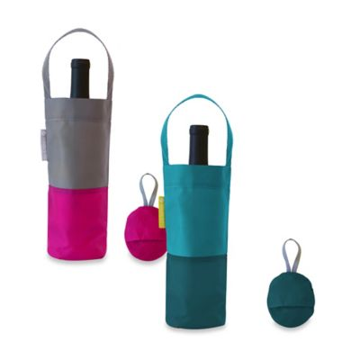 Flip & Tumble Wine Bag in Teal