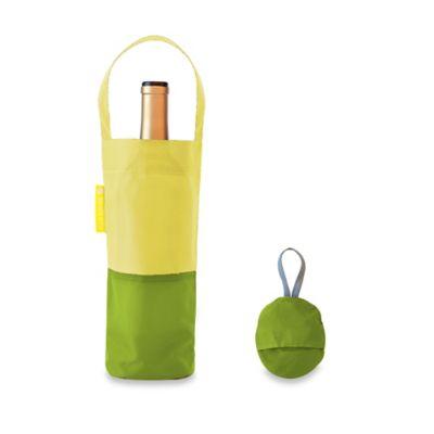 Green Wine Bag