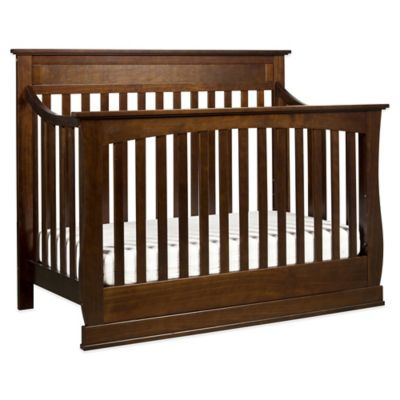 DaVinci Glenn 4-in-1 Convertible Crib in Espresso