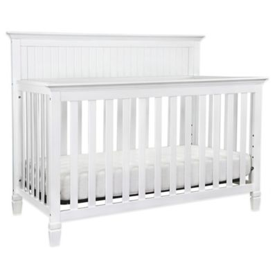 DaVinci Perse 4-in-1 Convertible Crib in White