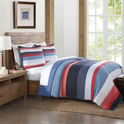 Long Beach Twin Quilt in Multi