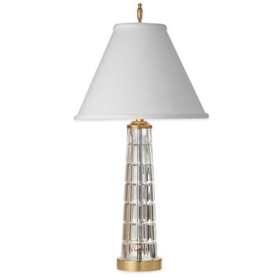 Waterford® Adara Accent Lamp with Linen Shade