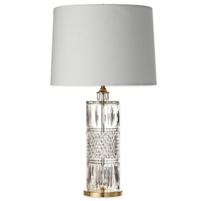 Waterford® Irish Lace Accent Lamp with Linen Shade