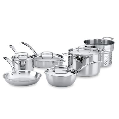 The French Chefs™ 10-Piece Cookware Set